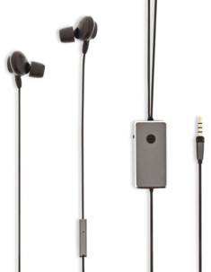 Kit mains libres intra-auriculaires avec réduction de bruit active HPWD5060GY