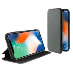 Étui folio en simili cuir pour iPhone 11 Pro.