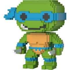 figurine funko Pop 8 bits leonardo tortue ninja