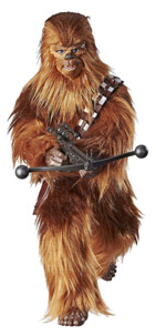 figurine parlante de chewbacca star wars forces of destiny fourrure cris