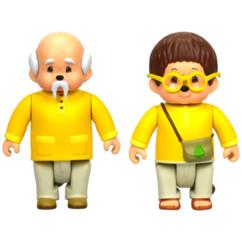 Figurines La tribu des Monchhichi - Feuillu & Sylvus.