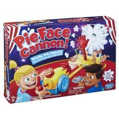 Packaging du jeu de société Pie Face Canon de Hasbro.