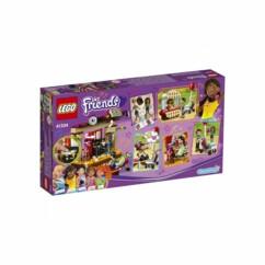 Boîte LEGO Friends n°41334 La scène de spectacle d'Andréa.