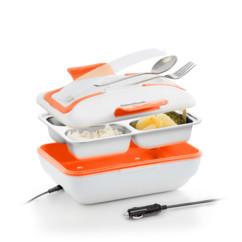 Lunch box chauffante en inox 12 V par InnovaGoods.