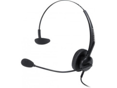 Micro casque téléphone Mono QD et RJ9.
