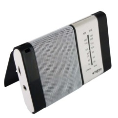 mini radio avec support pliable am fm audio design bigben alimentation piles
