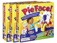 3 boîtes du jeu Pie Face