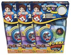 Pack de 3 montres à double projection Yo-Kai Watch Modèle U (Saison 3)