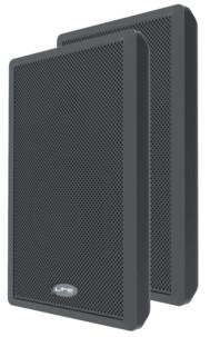 paire d'ecouteurs stereo ltc audio ssp501 60w avec membrane papier tweeter 30 mm graves 13cm
