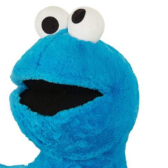 Peluche Cookie Monster Sesame Street.