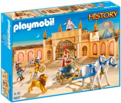Playmobil collection History : L'arène romaine (5837)
