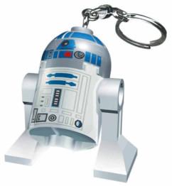 Porte-clés avec Lampe LED Lego Star Wars - R2-D2