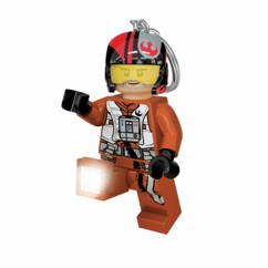 Porte-clés LED LEGO Star Wars Poe.