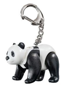 Porte-clé Playmobil panda.