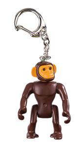 Porte-clé Playmobil singe.