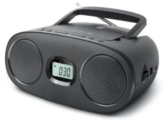 mini radio fm avec lecteur cd usb mp3 jack aux in new one rd312