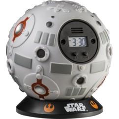 horloge reveil star wars balle entrainement jedi reveil à lancer contre un mur cadeau enfant fun