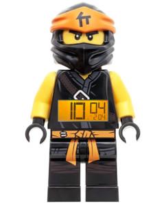 Réveil Ninjago Cole parlant et rétroéclairé - 21 cm