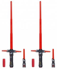 2 sabres laser de Kylo Ren - Star Wars Bladebuilders B2948EU40