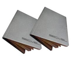 Set de 2 porte-passeports et cartes RFID
