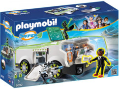 Playmobil Super 4 : Techno Caméléon avec Gene 6692