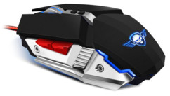 souris usb gaming retro éclairage spirit of gamer pro m4 3200dpi 8g aspect metal