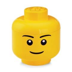 Tête de rangement LEGO garçon taille L.
