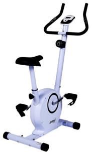 velo d'appartement magnetique a roue inertie striale sv318 avec capteur poul et ordinateur de bord