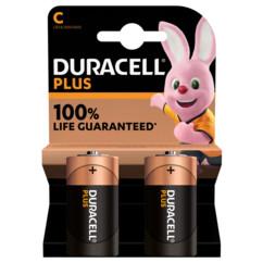 Duracell piles LR14 type C - Lot de 2