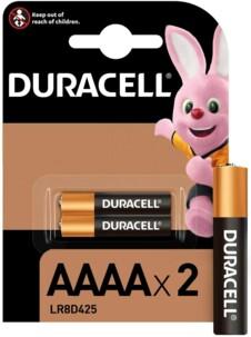 Lot de 2 piles AAAA LR8D425 Duracell