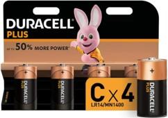 Duracell piles LR14 type C - Lot de 4