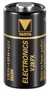 Pile Oxyde d'argent 4SR44 Varta