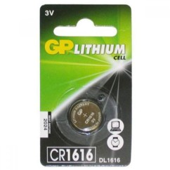 Pile bouton GP Lithium CR1616