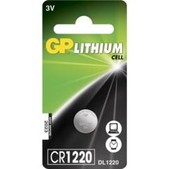 pile bouton lithium gp 3v cr1220 dl1220 ecr1220 sbt13 gpcr1220