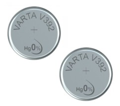 Lot de 2 piles bouton Varta LR41 (SR41).