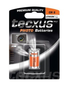 Batterie photo CR2 900 mAh Tecxus