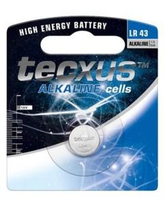 Tecxus pile bouton LR43