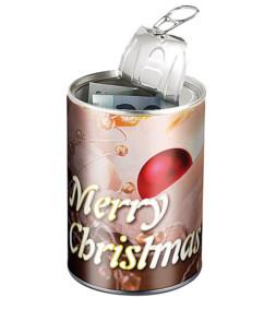 """Canette cadeau """"Merry Christmas"""""""