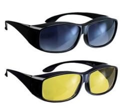 Pack lunettes de conduite ''Day Vision'' et ''Night Vision''