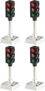 4 feux de signalisation à LED