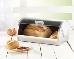 Boîte à pain avec couvercle coulissant