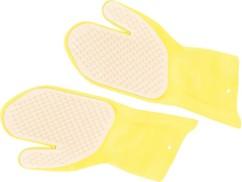 Paire de gants de brossage pour animal