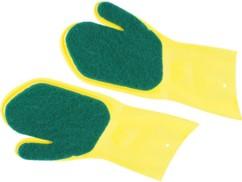 Paire de gants de nettoyage pour vaisselle et couverts