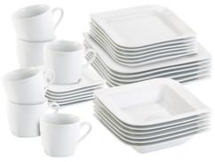 Service en porcelaine, 30 pièces