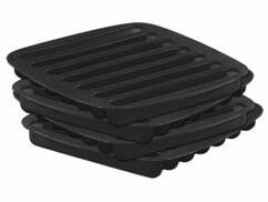 """4 bacs à glaçons en silicone pour glaçons longs """"Stab Ice"""""""
