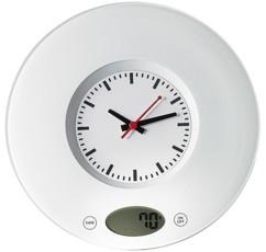 Balance universelle avec horloge