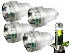 Bouchon à LED 7 Couleurs - x4