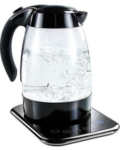 Bouilloire en verre à température réglable 1,7 L