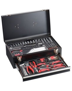 Valise à outils en métal 133 pièces ''WZK-1337.s''