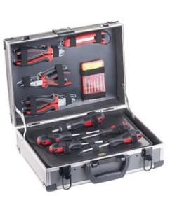 Valise à outils en métal 64 pièces ''WZK-645''